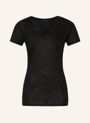 ALL SAINTS T-Shirt EMELYN mit Glanzgarn