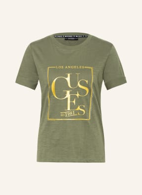 GUESS T-Shirt mit Schmucksteinbesatz