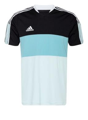 adidas T-Shirt TIRO mit Mesh-Einsätzen