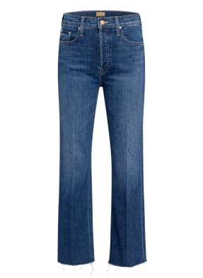 MOTHER Straight Jeans THE TRIPPER ANKLE FRAY