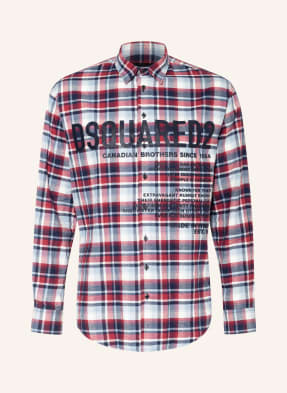 DSQUARED2 Flanellhemd CERESIO Comfort Fit
