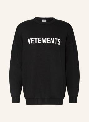 VETEMENTS Oversized-Pullover