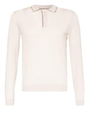 BOSS Strick-Poloshirt T-NOCERO Tailored Fit mit Seide