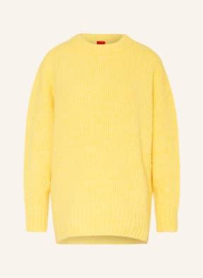 HUGO Oversized-Pullover SKYLORY mit Alpaka