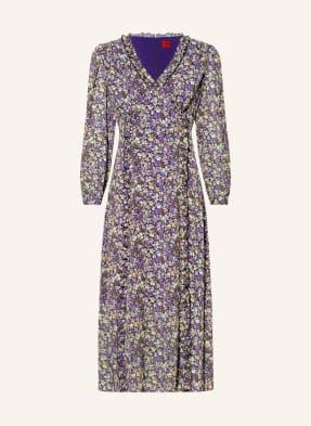 HUGO Kleid KIMALA mit Rüschenbesatz