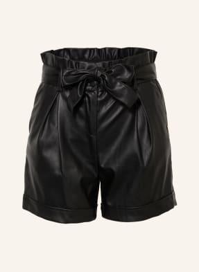 LIU JO Shorts in Lederoptik