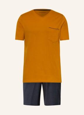 SCHIESSER Shorty-Schlafanzug FINE INTERLOCK