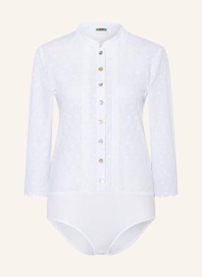 BERWIN & WOLFF Body-Bluse mit 3/4-Arm