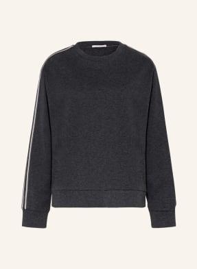 PESERICO Sweatshirt mit Galonstreifen