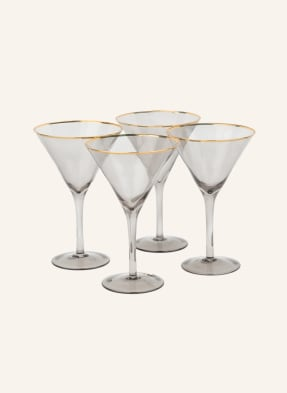 ladelle 4er-Set Martinigläser