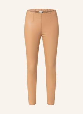 Mrs & HUGS 7/8-Leggings in Lederoptik