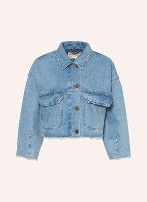 TED BAKER Cropped-Jeansjacke BORNMTH