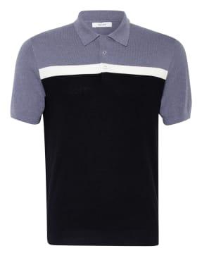 REISS Strick-Poloshirt CAIRNS