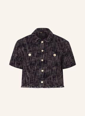 maje Cropped-Blazer CILAGA in Tweed-Optik