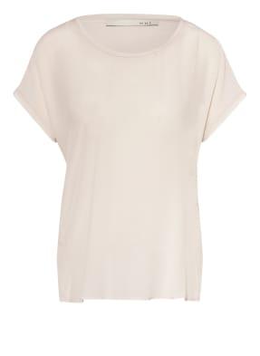 oui Shirt mit Seide im Materialmix
