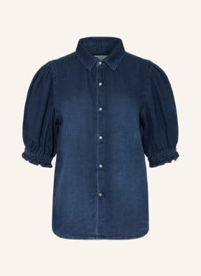 ba&sh Blusenshirt HONEY aus Jeans