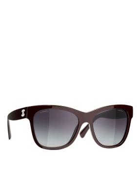CHANEL Eckige Sonnenbrille