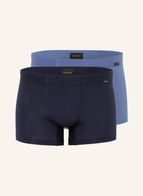 HANRO 2er-Pack Boxershorts COTTON ESSENTIALS