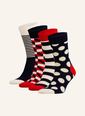 Happy Socks 4er-Pack Socken mit Geschenkbox
