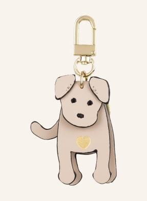 SEIDENFELT Schlüssel- und Taschenanhänger MY DOG