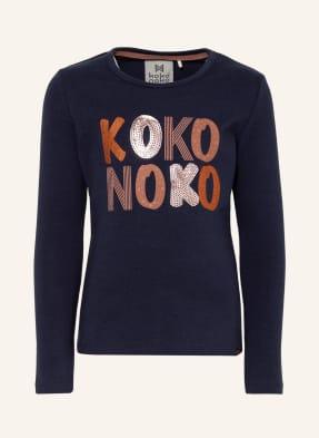 Koko Noko Longsleeve mit Paillettenbesatz
