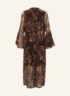 ANNA's Kleid mit Volantbesatz