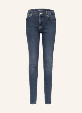 Pepe Jeans Jeans Slim Fit mit Schmucksteinbesatz