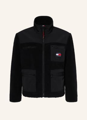 TOMMY JEANS Jacke im Materialmix