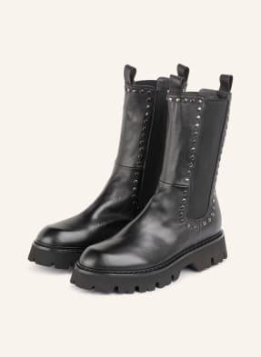 Fru.it Chelsea-Boots mit Nietenbesatz