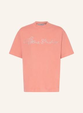 Acne Studios T-Shirt mit Glitzergarn