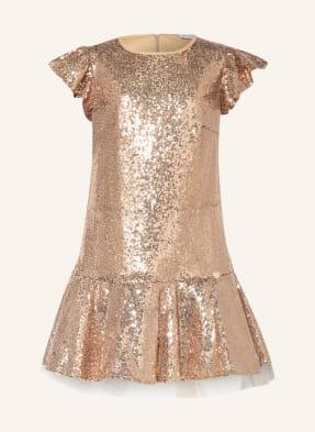 MONNALISA Kleid mit Pailletten-Besatz