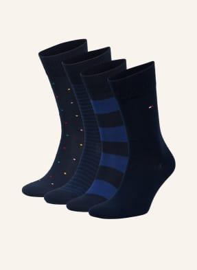 TOMMY HILFIGER 4er-Pack Socken mit Geschenkbox