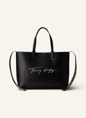 TOMMY HILFIGER Shopper ICONIC MEDIUM zum Wenden