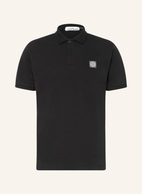 STONE ISLAND Piqué-Poloshirt Regular Fit