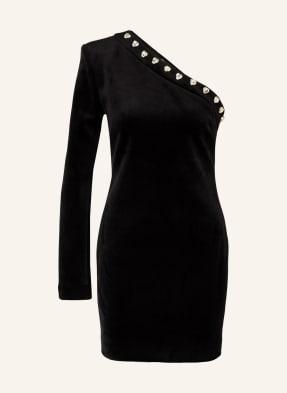 CHIARA FERRAGNI One-Shoulder-Kleid aus Samt