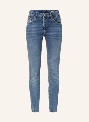 mavi Skinny Jeans NICOLE mit Schmucksteinbesatz