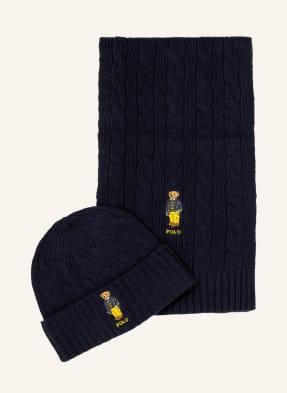 POLO RALPH LAUREN Set: Mütze und Schal