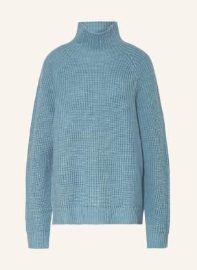 FUNKTION SCHNITT, Oversized-Pullover aus Merinowolle