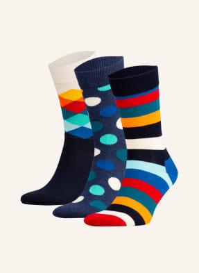 Happy Socks 3er-Pack Socken mit Geschenkbox