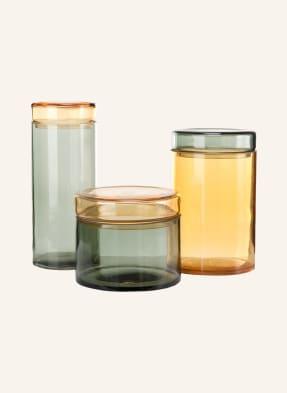 pols potten 3er-Set Aufbewahrungsdosen CAPS&JARS