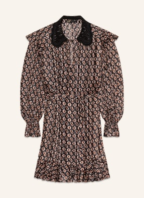 maje Kleid RINETTE mit Volants