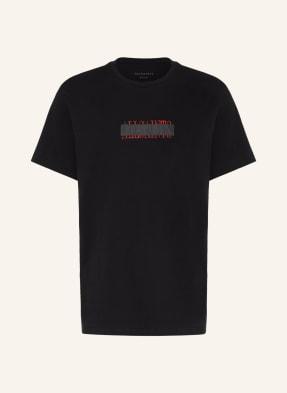 ALL SAINTS T-Shirt STAMP LAMINATE