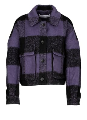 YOUNG POETS SOCIETY Hemdjacke HANNI CHECK 214 Cropped Fit