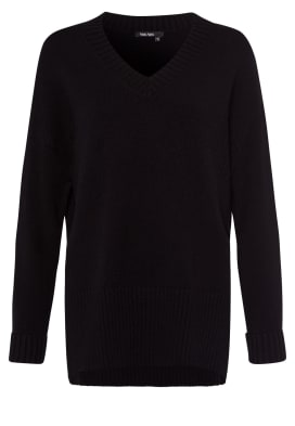 MARC AUREL V-Ausschnitt-Pullover