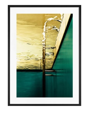 DEMOCRATIC GALLERY Poster ABSTRAKTER SCHWIMMBAD