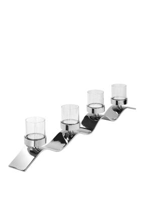 Fink Teelichthalter, 4-flammig WAVE