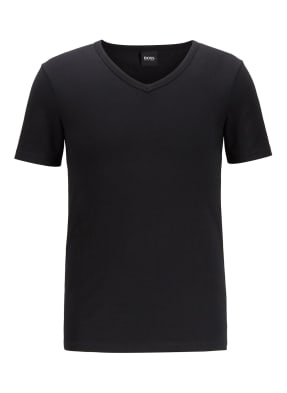 BOSS Unterhemd T SHIRT VN 2P CO/EL