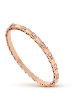 BVLGARI Armband SERPENTI aus 18 Karat Roségold und Diamanten
