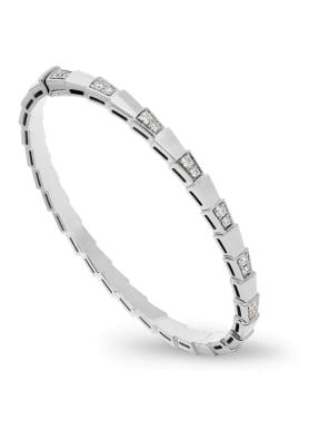 BVLGARI Armband SERPENTI aus 18 Karat Weißgold und Diamanten
