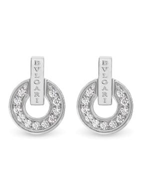 BVLGARI Ohrring BVLGARI BVLGARI aus 18 Karat Weißgold und Diamanten